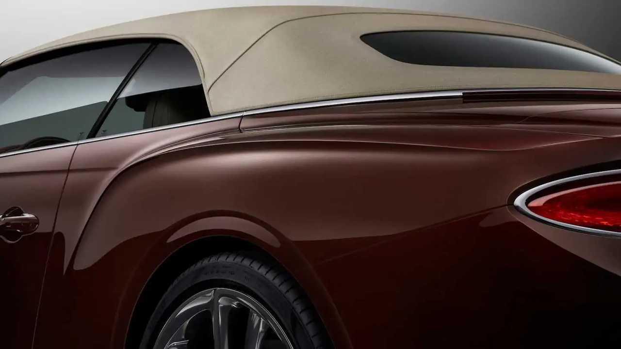 2019 Bentley Continental GT Convertible Resmi Tanıtım Görüntüleri