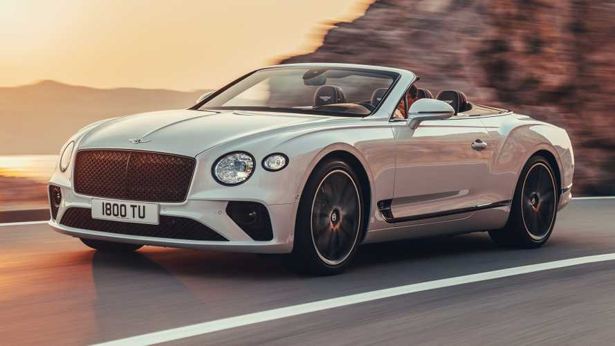 2019 Bentley Continental GT Convertible revealed as 207-mph tweedtop