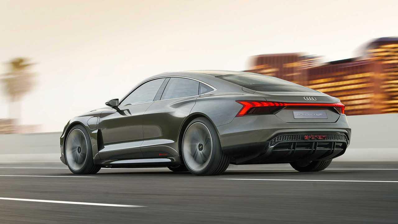 Audi e-tron GT concept 2019