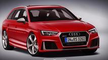 2017 Audi RS4 Avant render