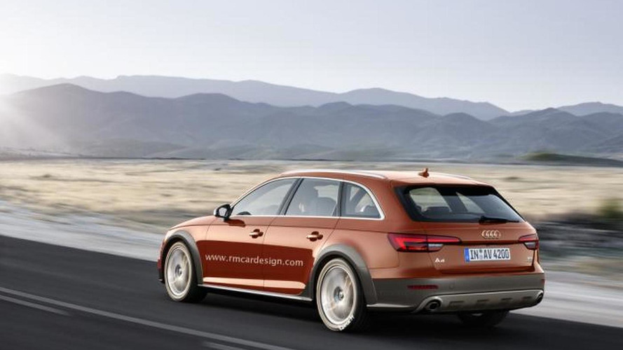 Audi A4 B9 puts on the allroad quattro clothes in new render