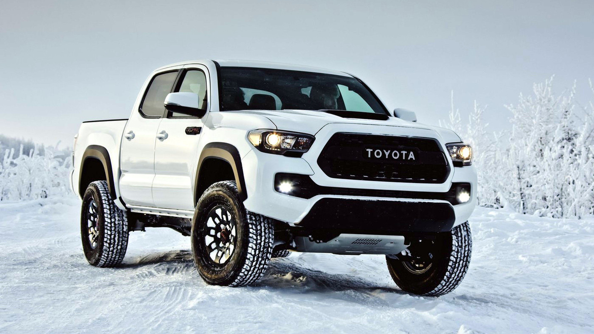 2017 Toyota Tacoma Trd Pro Debuts With Off Road Goodies Video
