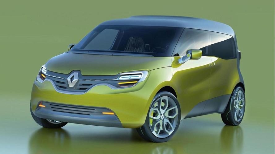 Renault Frendzy Concept in Frankfurt [video]