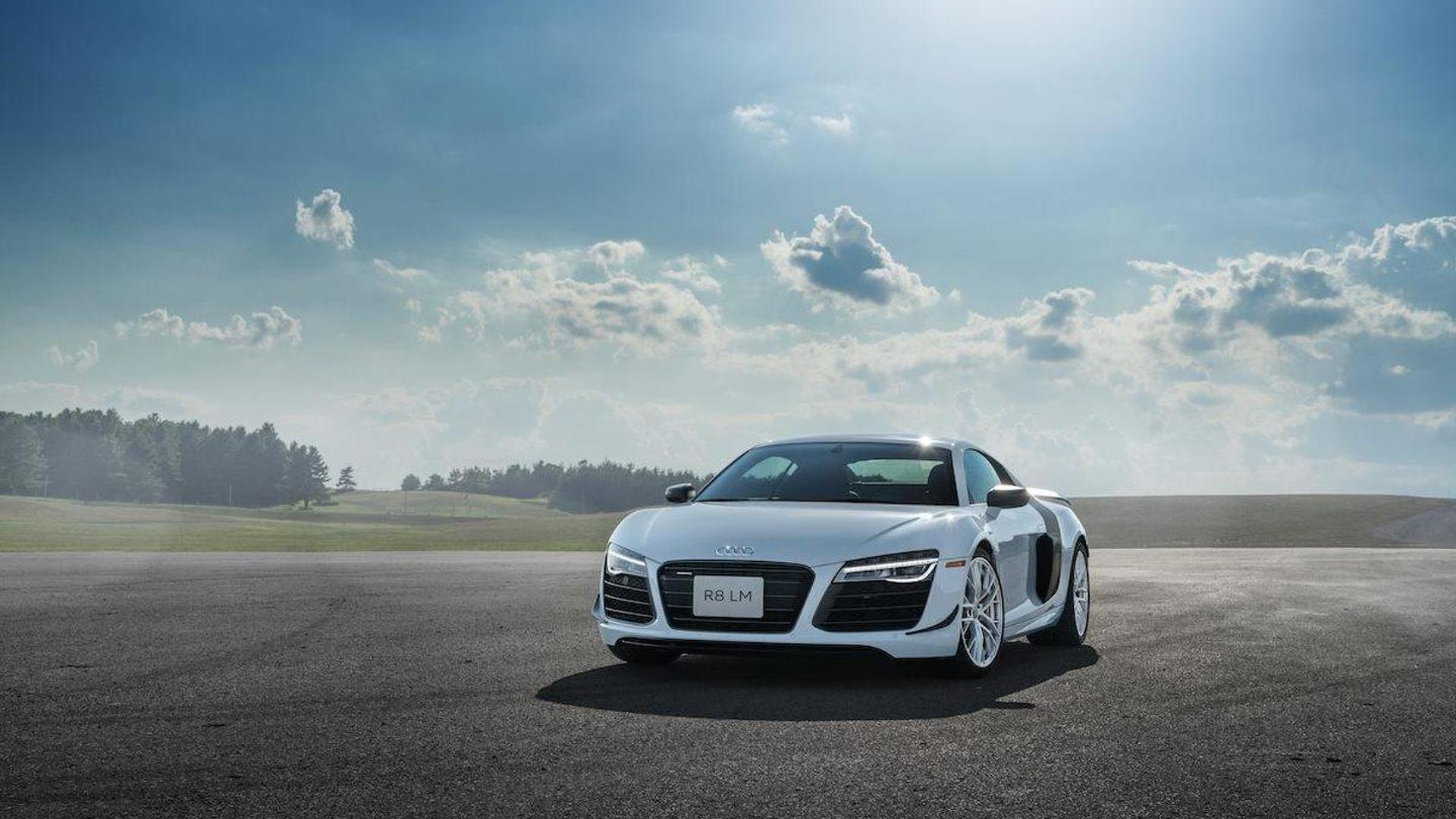 Audi Sends Off First Generation R With Canadaonly LM Limited Edition - Audi canada