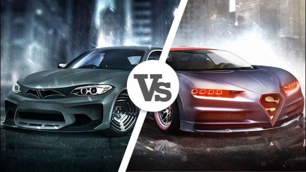 [Copertina] - Batman vs Superman, il film riaccende la passione per le auto