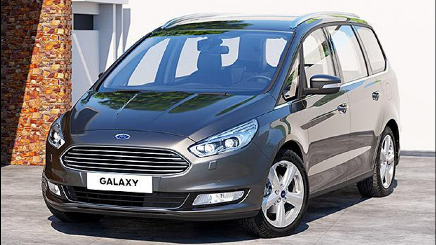 Nuovo Ford Galaxy, 7 posti di tecnologia