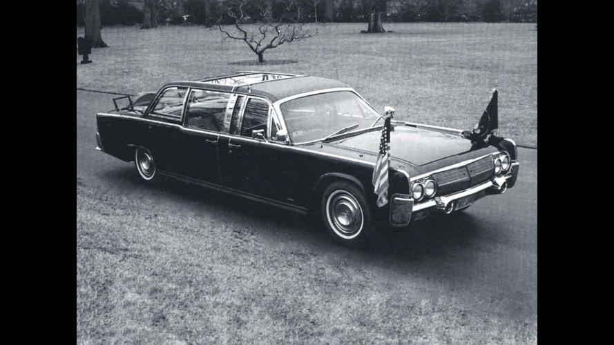 Президентский Lincoln Continental X-100 после доработки Quick Fix