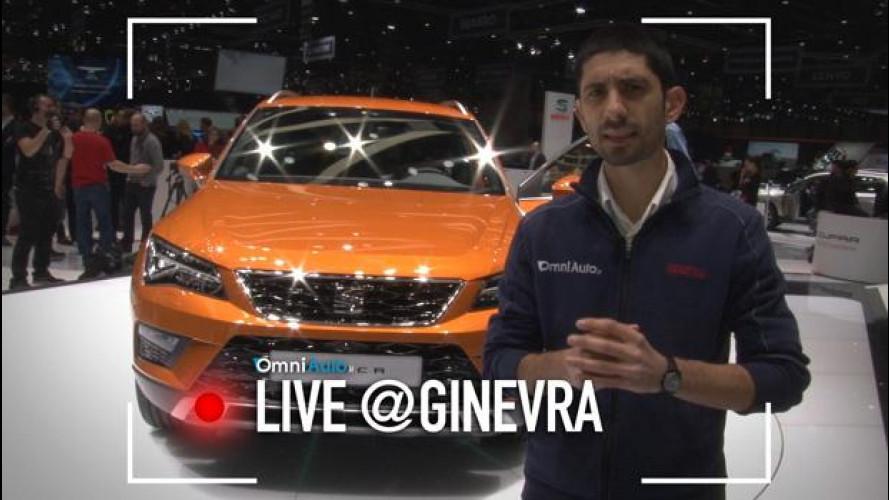 Salone di Ginevra, Seat Ateca sfida le altre SUV [VIDEO]