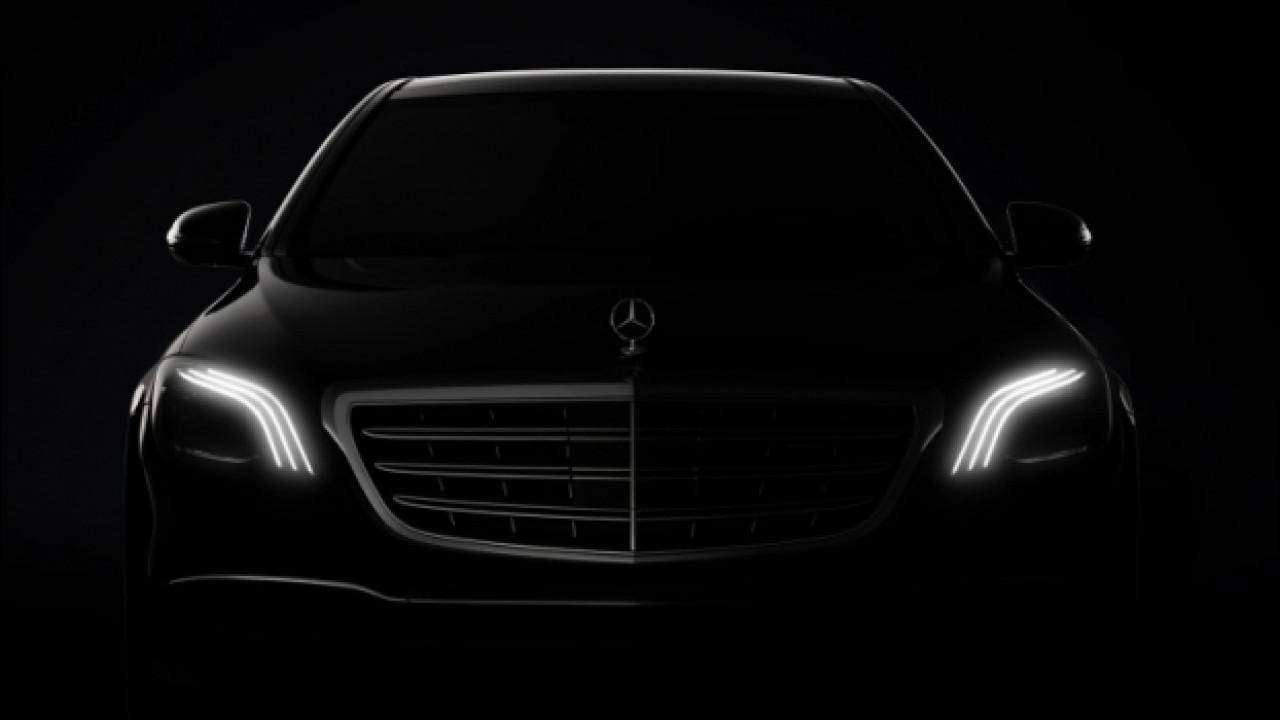 [Copertina] - Mercedes Classe S, il restyling al Salone di Shanghai