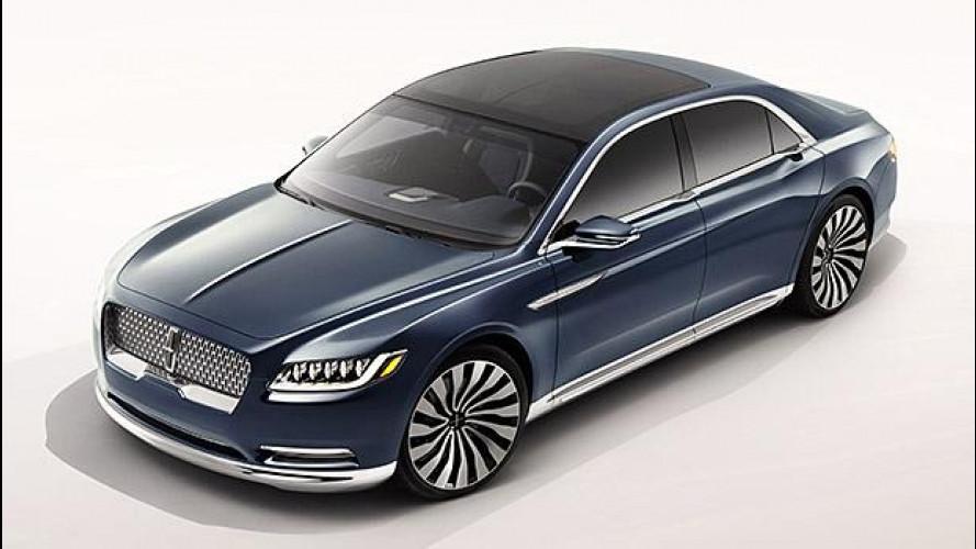 Lincoln Continental Concept, il ritorno del mito USA