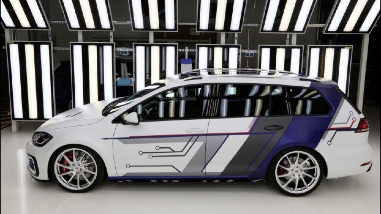 [Copertina] - Volkswagen Golf GTE Variant ImpulsE, ancora più ibrida