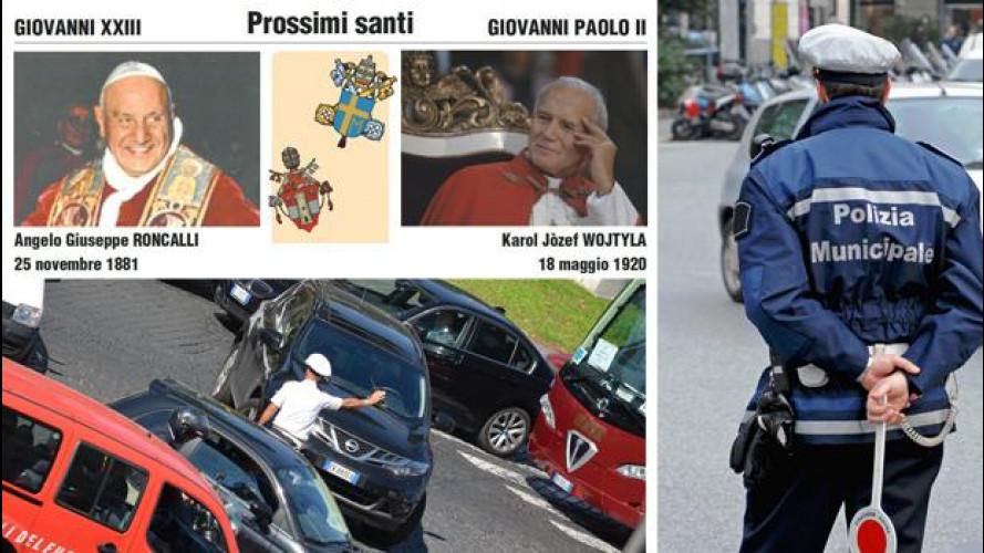 Canonizzazione pontefici: Roma mobilitata dal 18 aprile