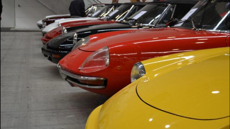 Salone Fuoriserie 2014, auto e moto d'epoca per gli appassionati