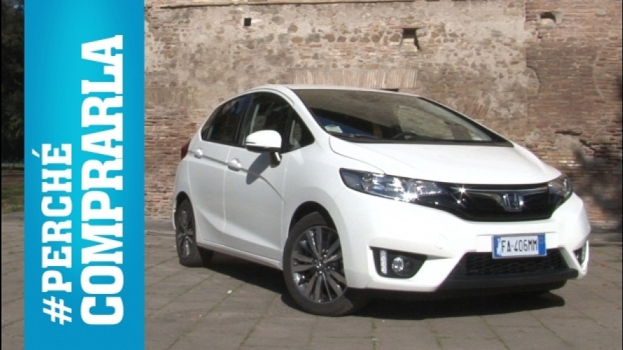 Honda Jazz, perché comprarla... e perché no [VIDEO]
