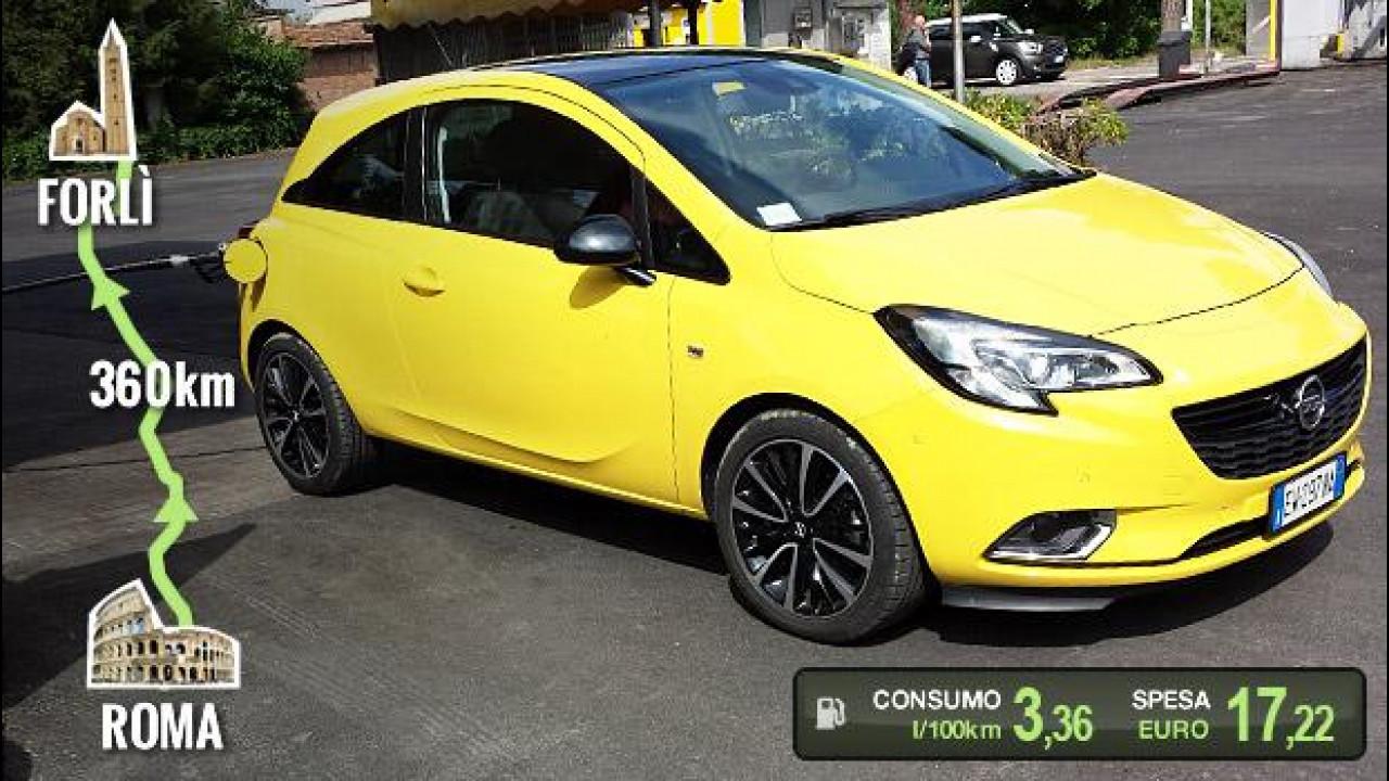 [Copertina] - Opel Corsa 1.3 CDTI, la prova dei consumi reali