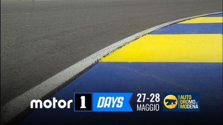 Motor1Days, tutto il bello della guida in pista... gratis!