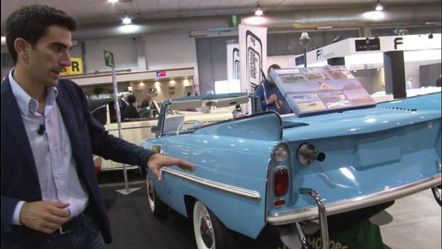 Amphicar, l'auto anfibia da collezione [VIDEO]