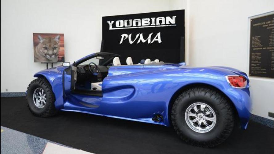 Youabian Puma, l'auto più brutta del Salone di Los Angeles