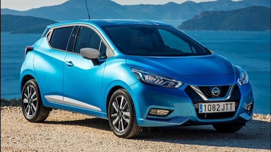 Nissan Micra, il 1.0 è anche per i neopatentati