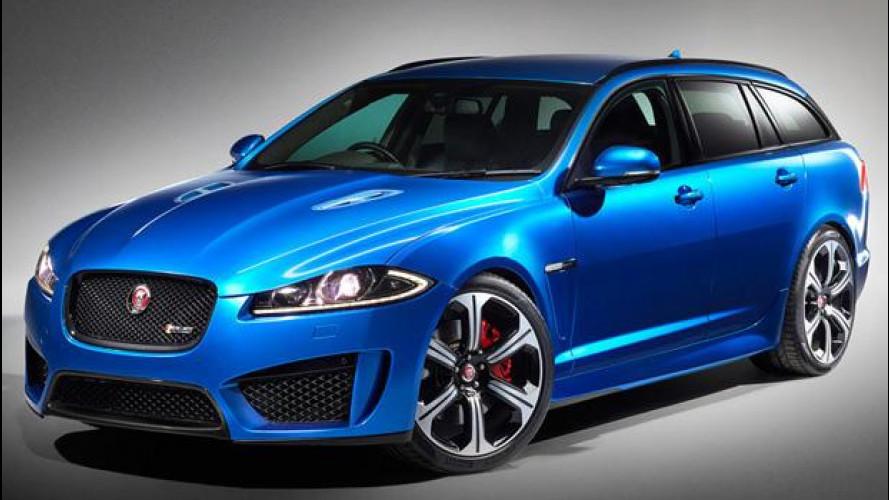 Jaguar XFR-S Sportbrake, familiare da 550 CV