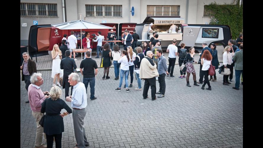 Milano Design Week, Peugeot delizia con il cibo da strada