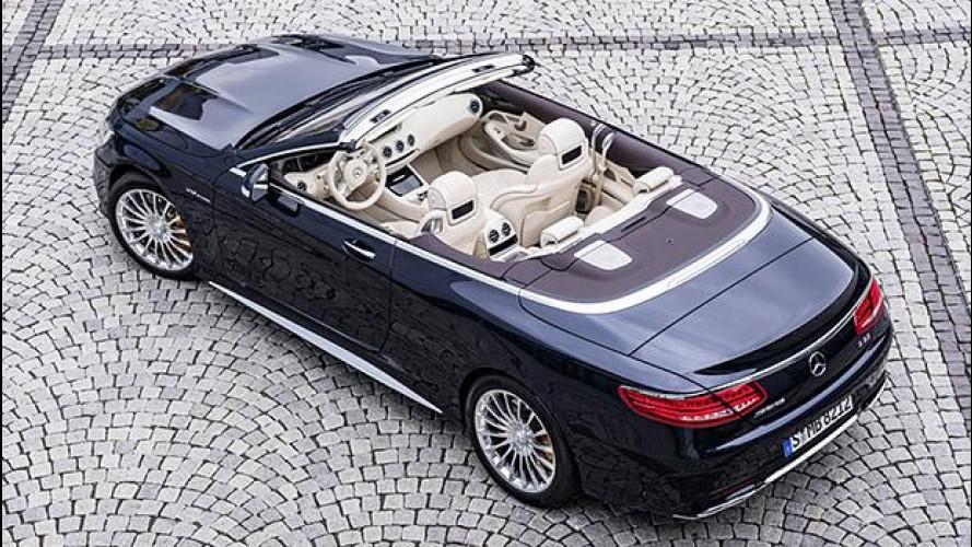 Mercedes-AMG S 65 Cabriolet, il cielo sopra il V12