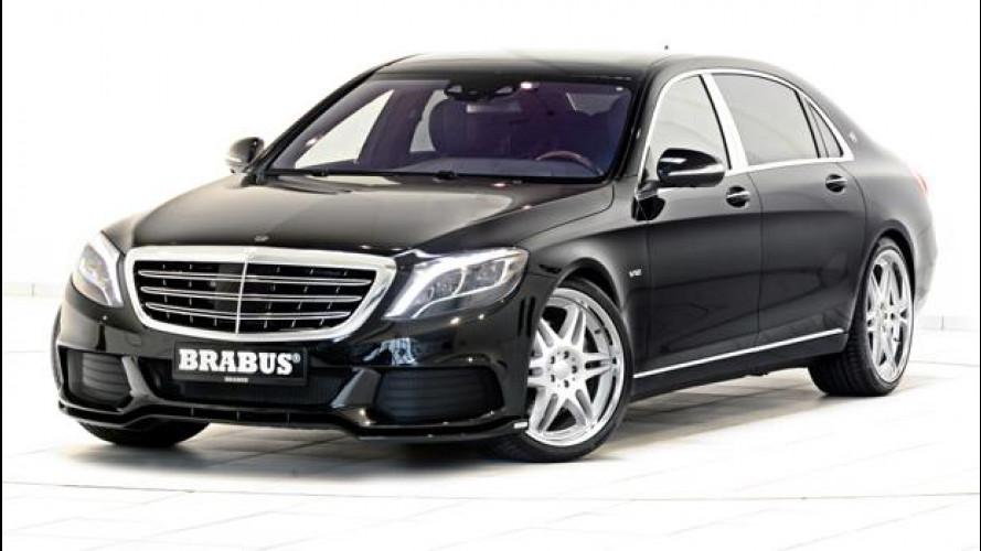 """Mercedes-Maybach Classe S, il """"razzo"""" di Brabus"""
