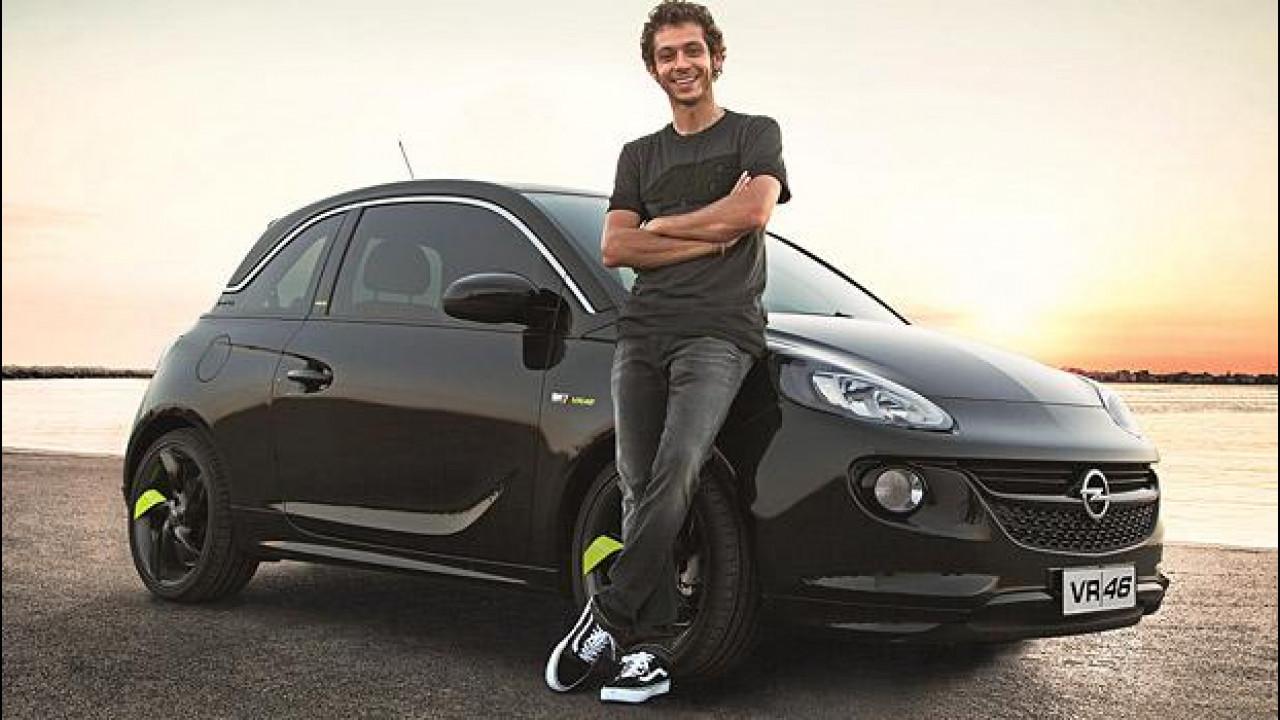 [Copertina] - Opel Adam VR|46 Limited Edition, firmata Valentino Rossi