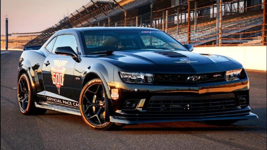 Chevrolet Camaro Z/28 Indy 500 Pace Car, quella di Dario Franchitti