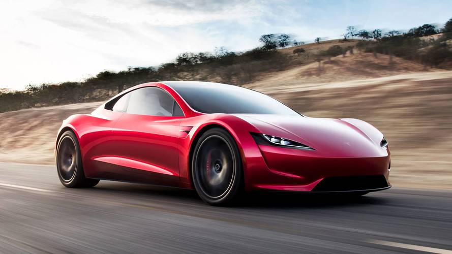 Musk: Tesla Roadster Production Likely Under 10,000, Will Beat All Hypercars