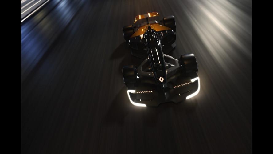 Renault R.S. 2027, la Formula 1 del futuro sarà connessa