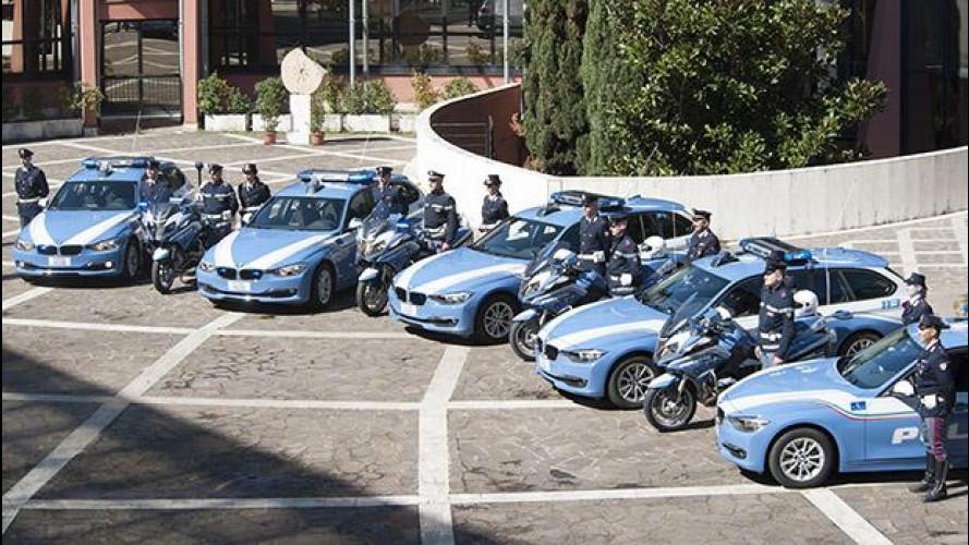 BMW fornisce 278 auto alla Polizia