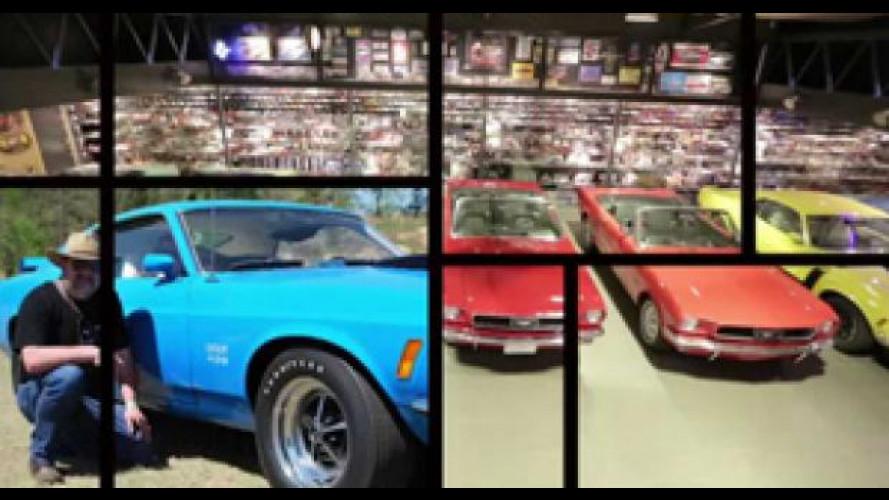 L'uomo da 5.500 Ford Mustang [VIDEO]