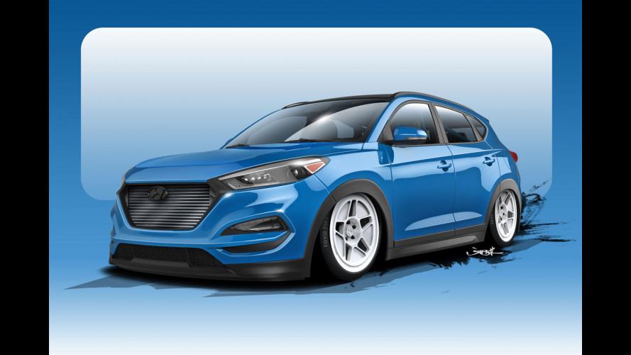 Hyundai Tucson, per il SEMA ha 700 CV