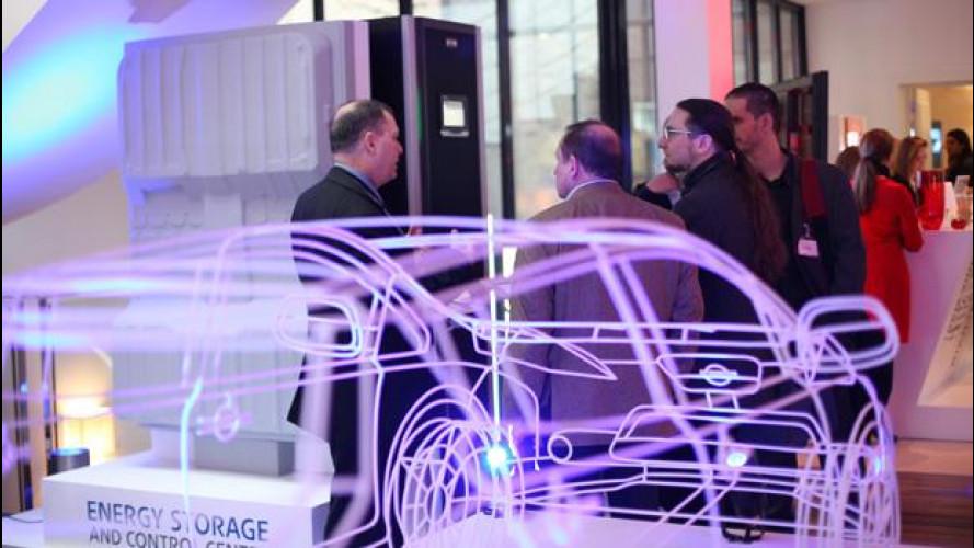 Nissan lavora alle batterie per la rete elettrica