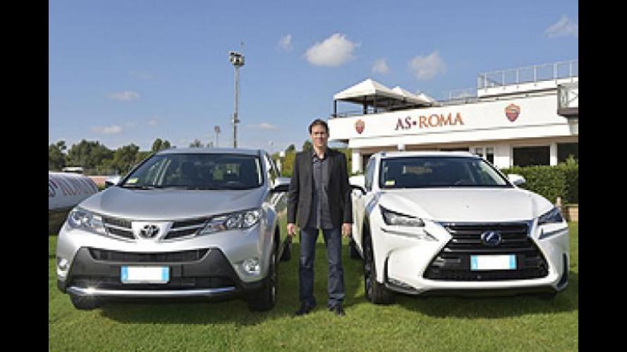 Toyota, le ibride vanno in Serie A con la AS Roma