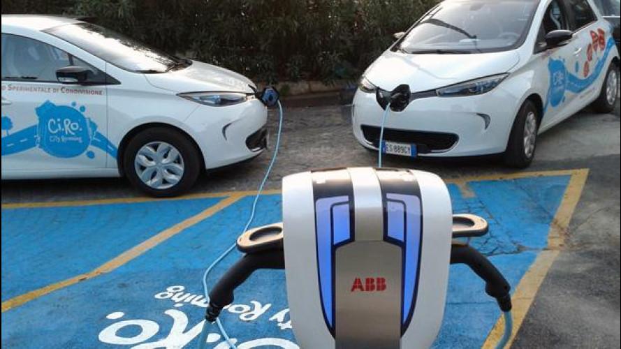 """A Napoli nasce  """"Ci.ro."""", il car sharing firmato Renault"""