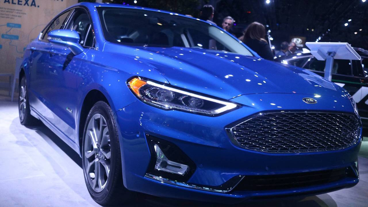 2019 Ford Fusion Energi Titanium | Motor1.com Photos