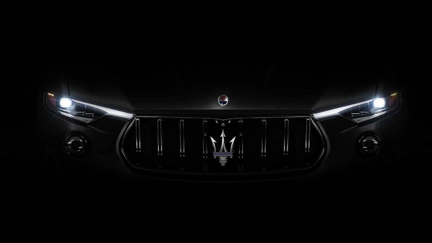 Maserati Teases Angry Looking Levante For New York Auto Show