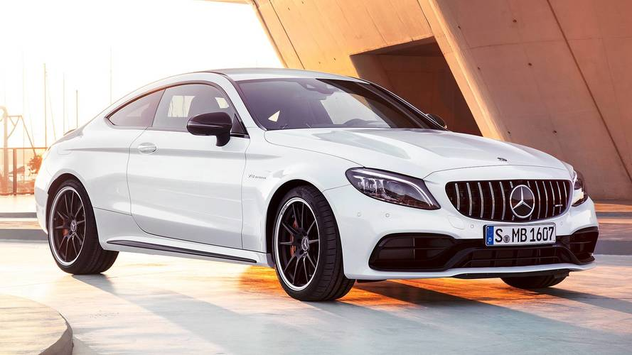 Mercedes-AMG C 63, il restyling ha 2 marce in più
