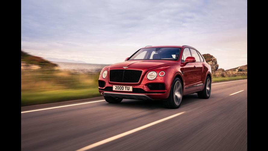 Bentley Bentayga, ora con il V8 biturbo