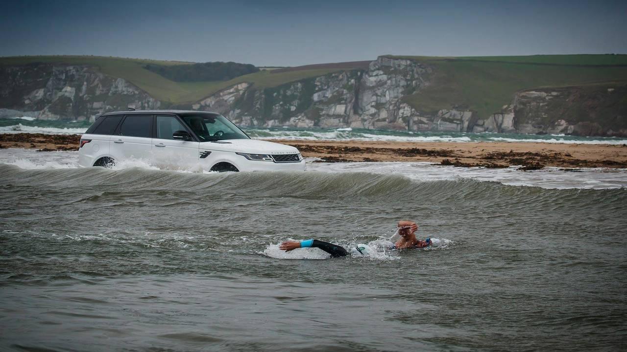 Range Rover Sport P400e 'nadador' (2017)