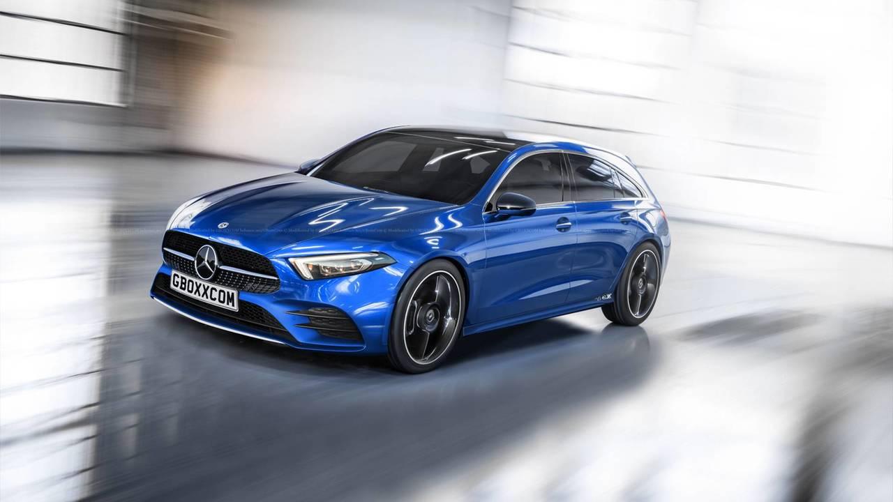 Mercedes A-Serisi'ne Shooting Brake yorumu