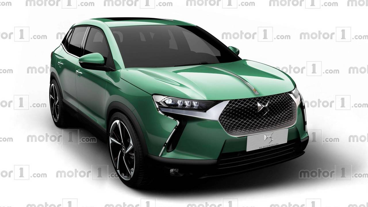 DS3 Crossback rendering