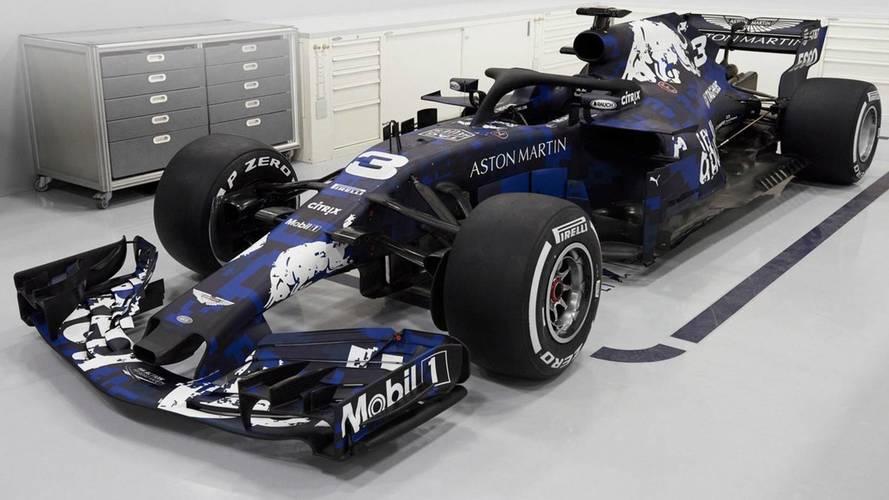 Red Bull'un 2018 sezonunda F1'de kullanağı araç tanıtıldı