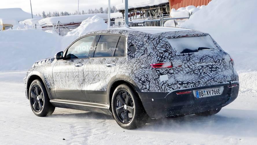 Mercedes-Benz EQ C New Spy Photos