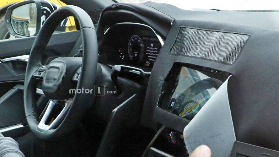 2019 Audi Q3 Reveals Most Of Its Interior In New Spy Shots