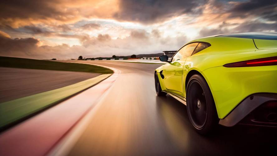 Manual Aston Martin Vantage is coming