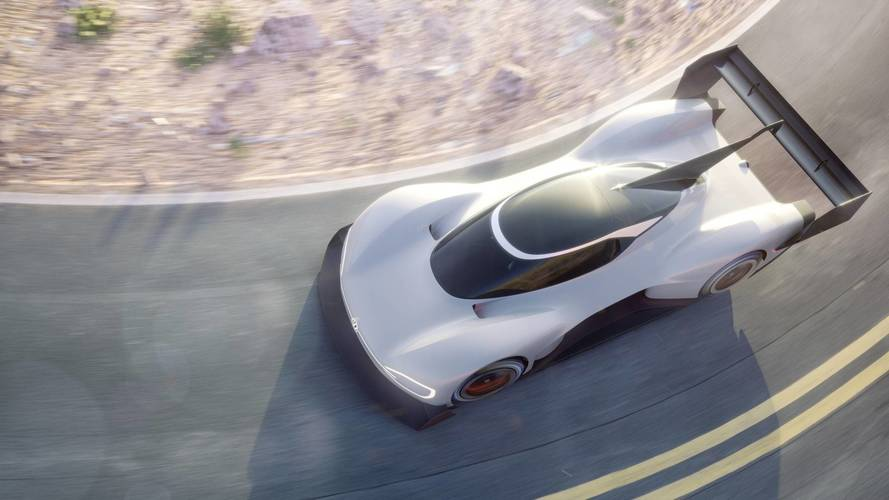 Pikes Peak 2018, l'elettrica Volkswagen mostra i muscoli