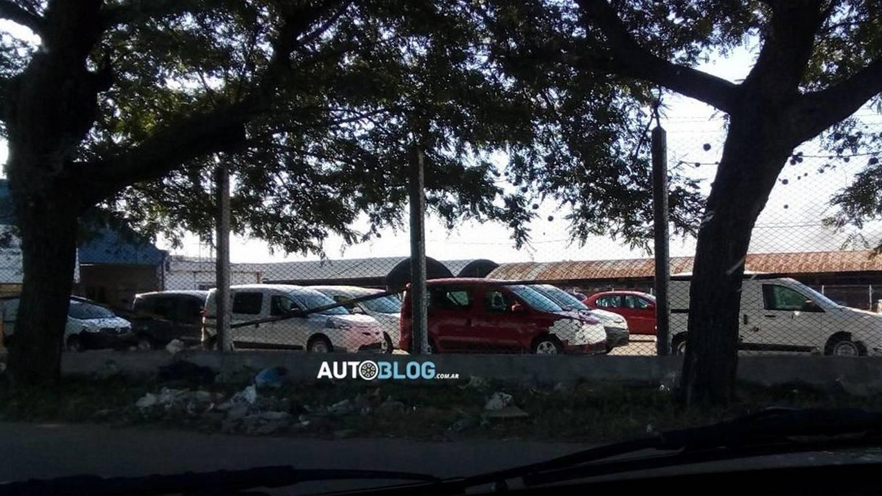 Flagra - Renault Dokker (Kangoo) na Argentina